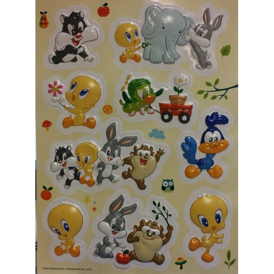 Foam Stickers Kinderkamer.Looney Tunes Artikelen Kinderkamer Stickers Bij Speelgoed Voordeel